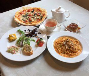 トラットリアフィレンツェの料理