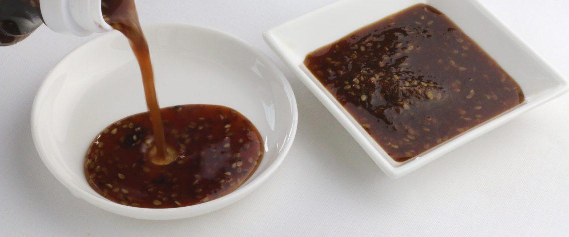 焼肉のタレづくり (みそ味・トマト味)