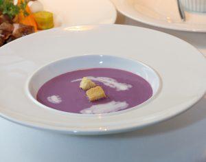 東温市産野菜のクリームスープ